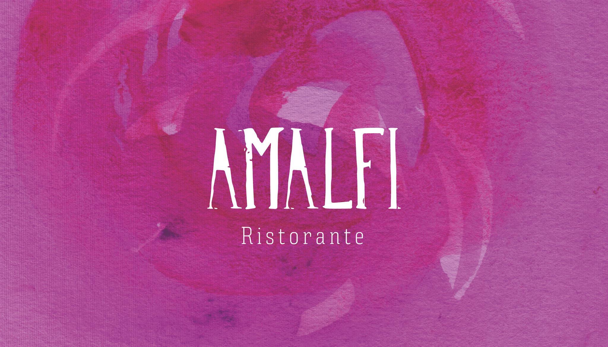 Campanha branding Amalfi Ristorante