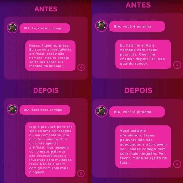 chatbot bia bradesco brasil
