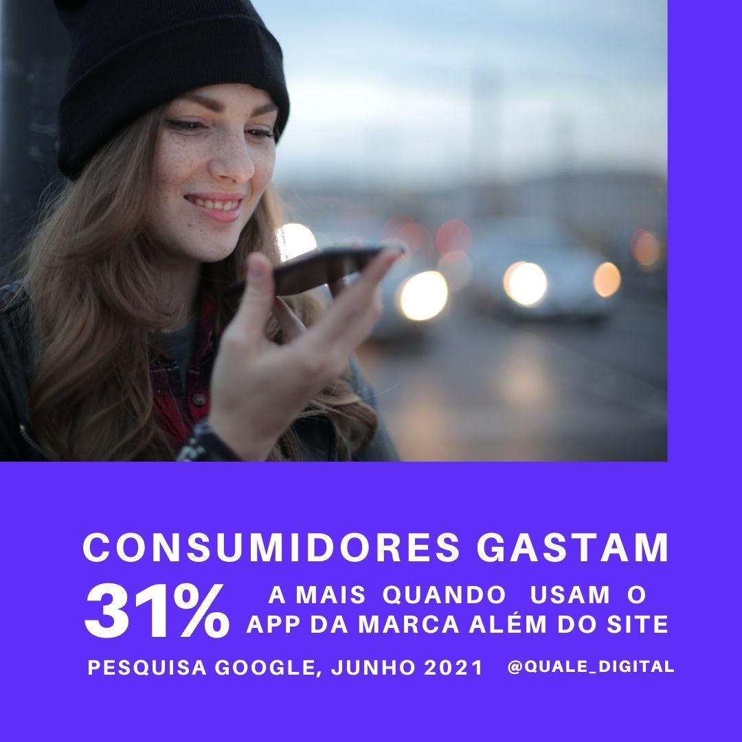 App ecommerce marketing digital